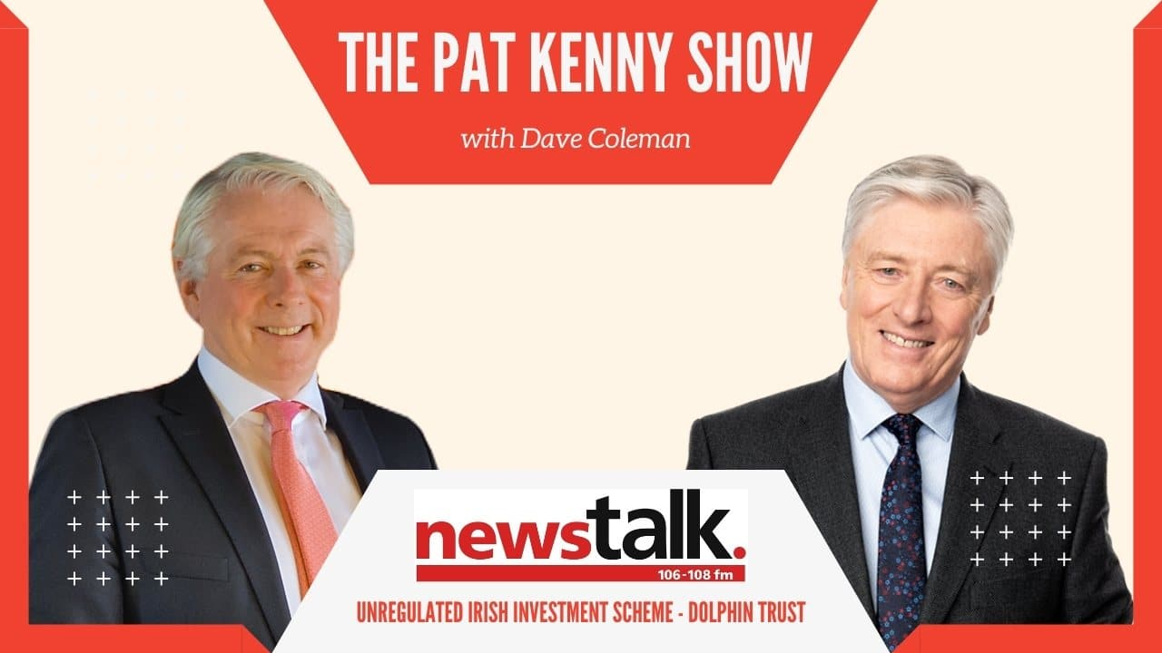 Dave Coleman on Pat Kenny Show_Newstalk_Dolphin Trust