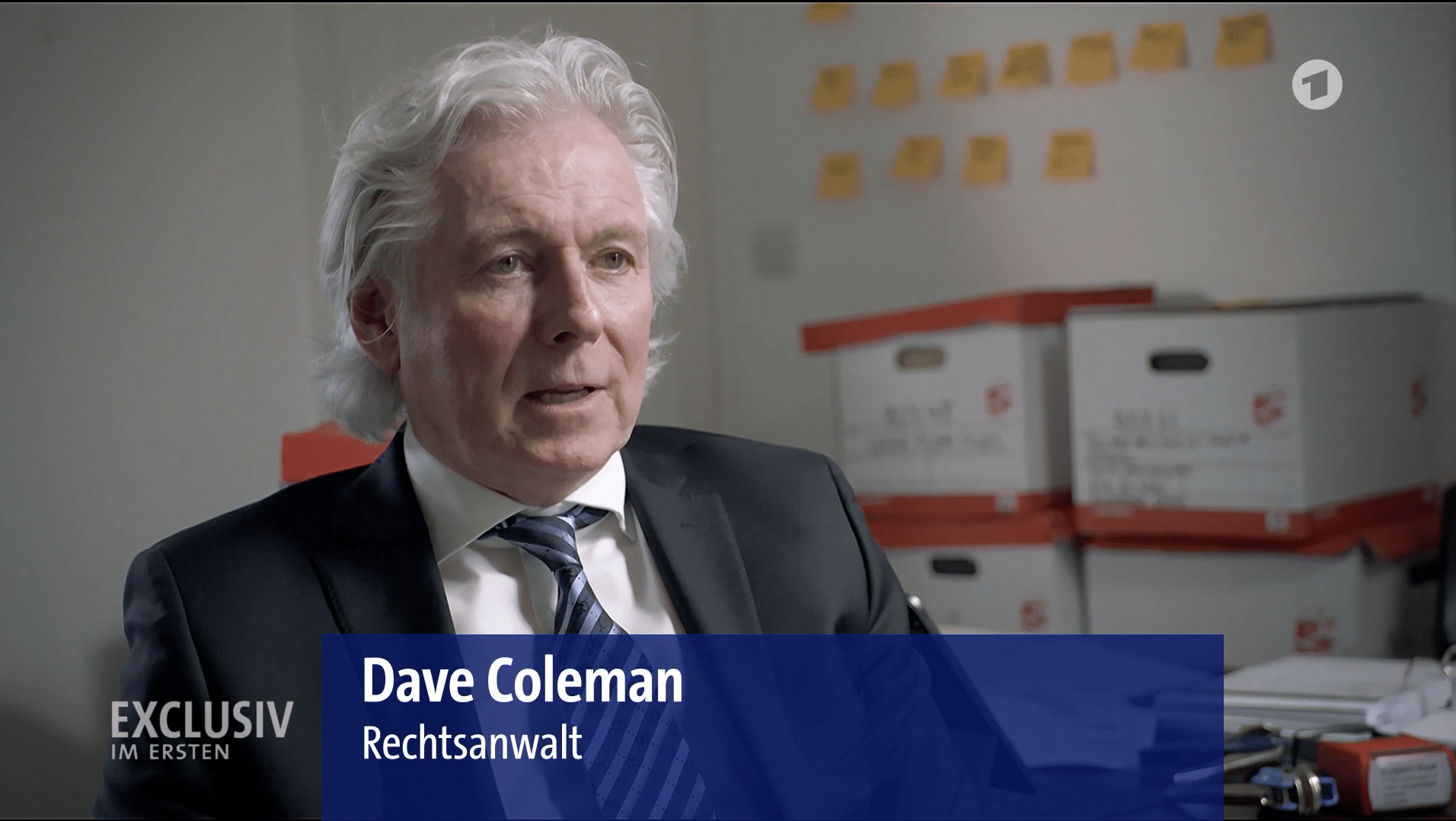 Dave Coleman on Dolphin Trust Insolvency with German News Channel BR 24